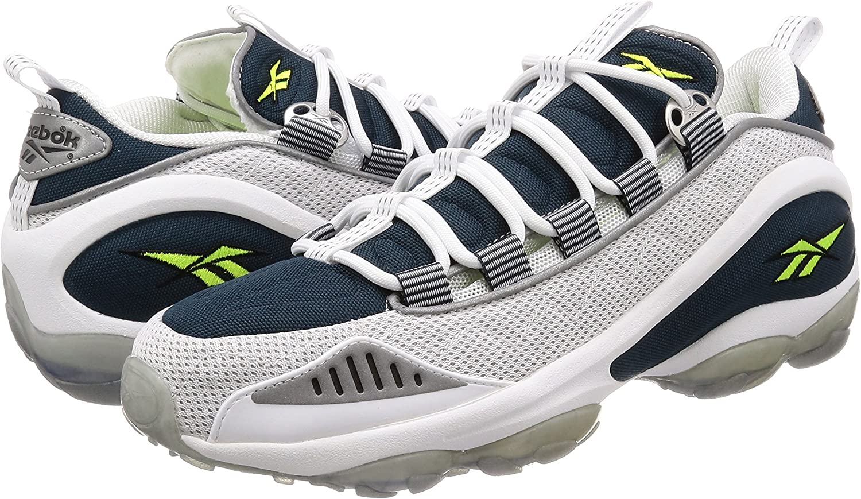 Reebok DMX Run 10 - Zapatillas Deportivas, Hombre, Blanco - (Wht/Nocturnal Blue/Neon YLLW): Amazon.es: Deportes y aire libre