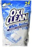 OxiClean White Revive Stain Remover Power Paks, 21.1 Ounce