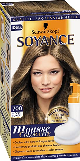 schwarzkopf soyance mousse colorante 700 blond fonc - Mousse Colorante Schwarzkopf
