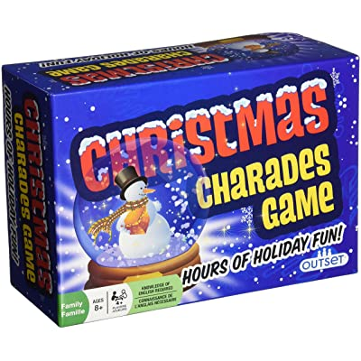 Christmas Charades Board Game: Toys & Games