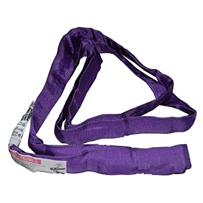 S-Line 20-ENR1X4 Lifting Sling, 1-Inch by 4-Foot, Endless Round Sling, Purple [5Bkhe0406987]