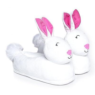 Cute To The Core Cute Light Up LED Plush Slipper - Cozy Unicorn Koala Toast Bunny Narwal - Fun Animal | Slippers