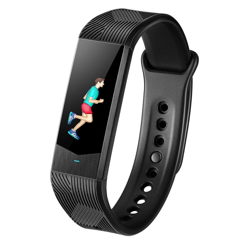 Reloj de pulsera B30 con frecuencia cardíaca y presión arterial: Amazon.es: Relojes