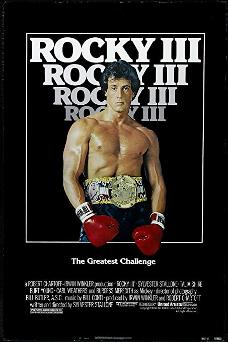 Image result for rocky iii poster