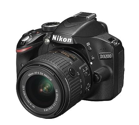 Nikon D3200 Juego de cámara SLR 24.2MP CMOS 6016 x 4000Pixeles ...