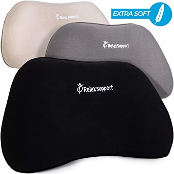 Amazon.com: RelaxSupport RS1 Almohada de apoyo lumbar, parte ...