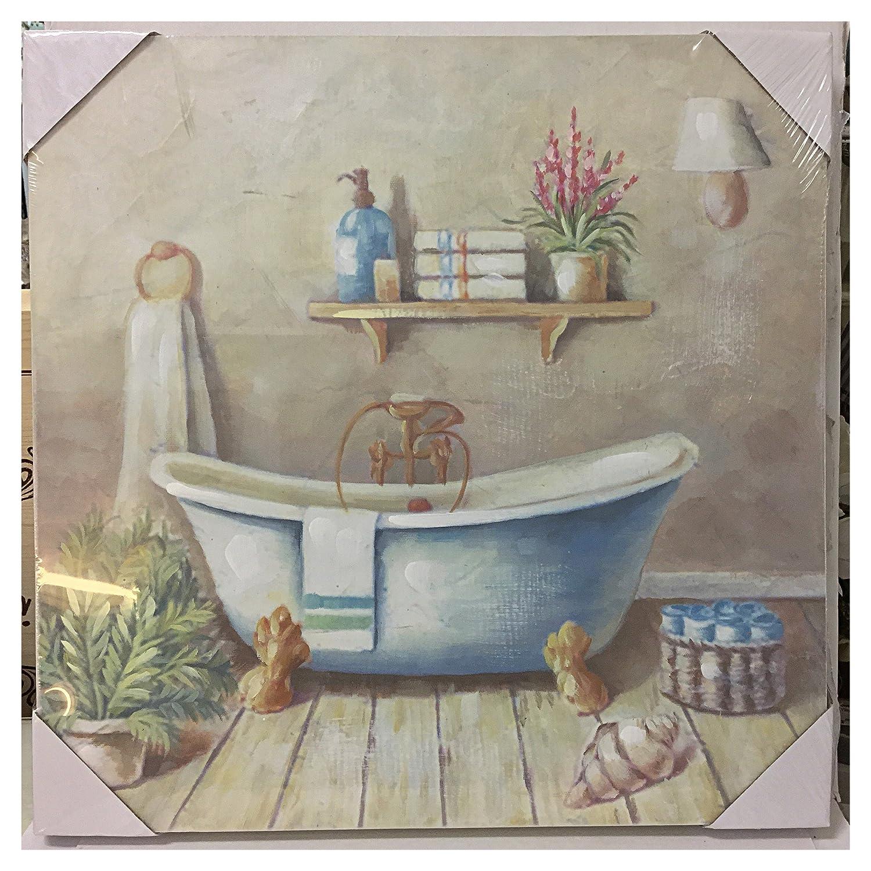 Quadri bagno shabby idee creative di interni e mobili - Quadri da mettere in bagno ...