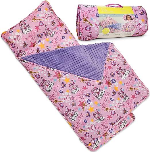 Amazon Com Bambino Bliss Kids Nap Mat With Removable Pillow