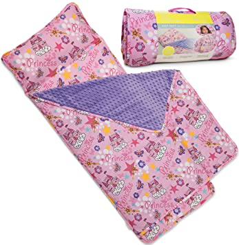 Amazoncom Kids Nap Mat With Removable Pillow Soft Lightweight