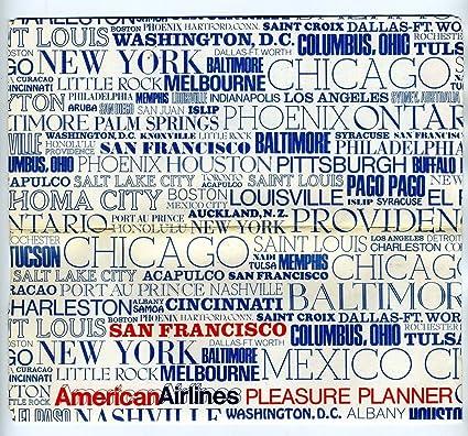 Amazon Com American Airlines Cities Ticket Jacket Ticket Boarding