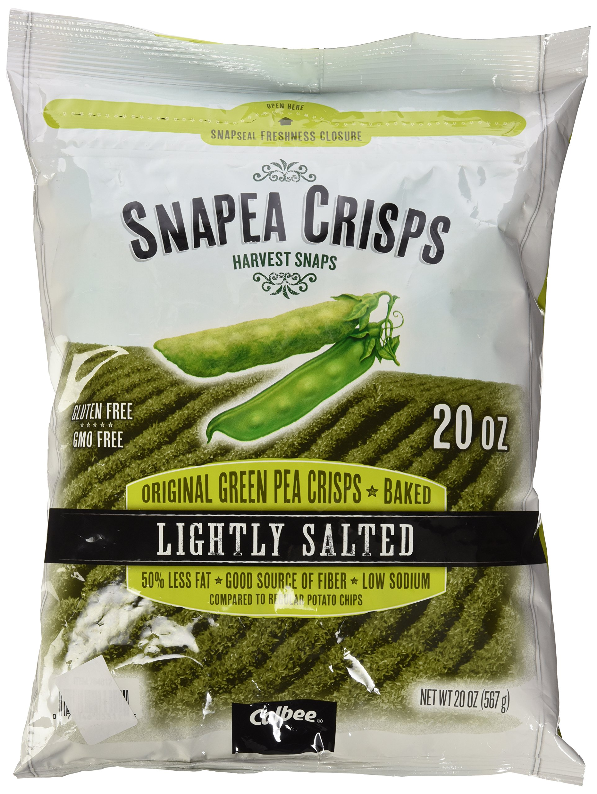 Green peas chips