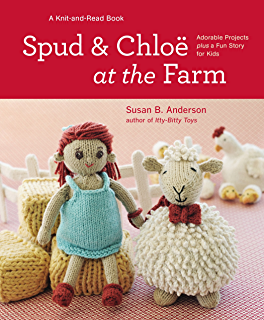 Amazon knitted toy tales ebook laura long kindle store spud and chloe at the farm fandeluxe Choice Image