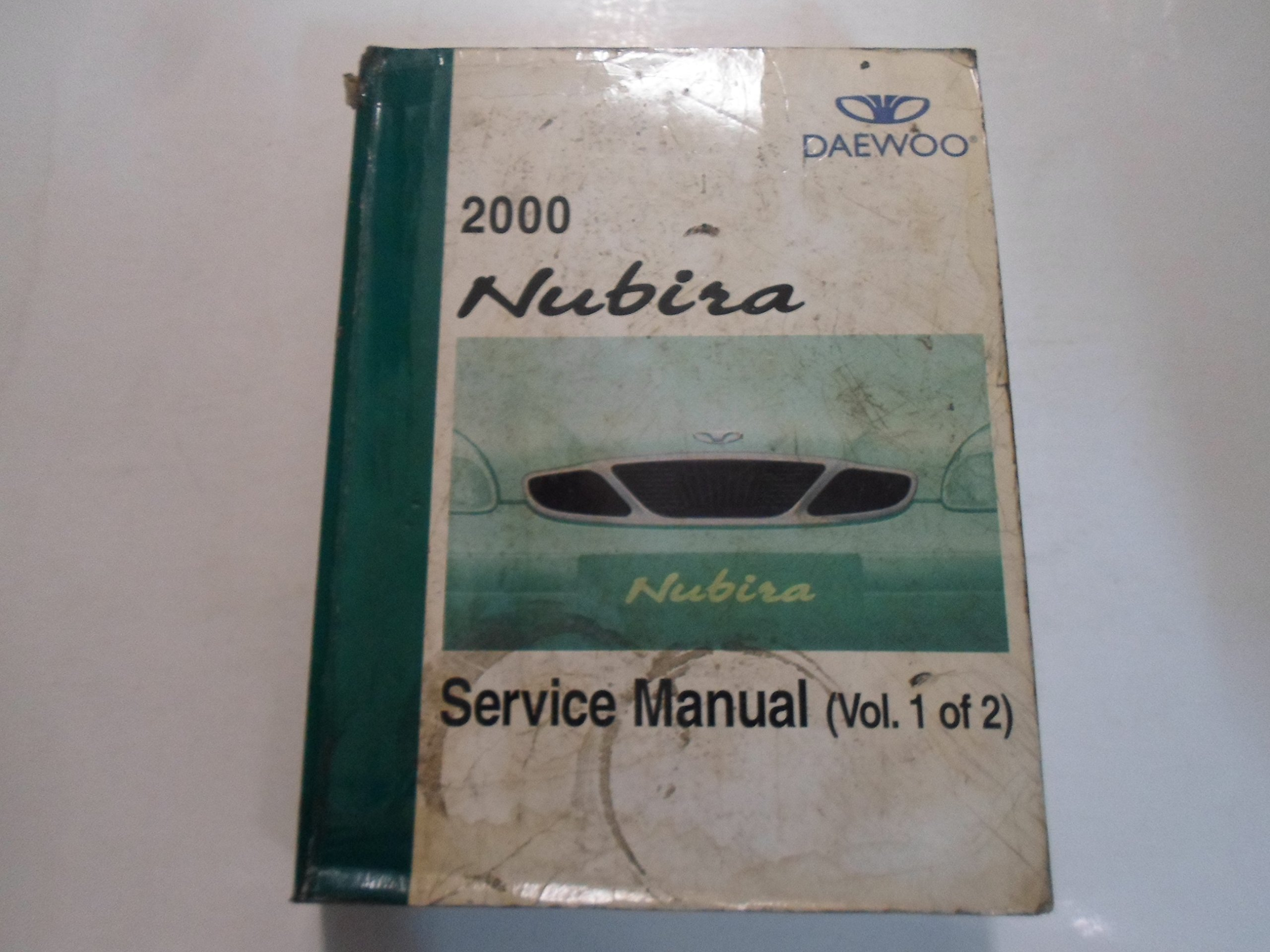 2000 DAEWOO Nubira Service Repair Shop Manual Volume 1 of 2 WATER DAMAGED:  DAEWOO: Amazon.com: Books