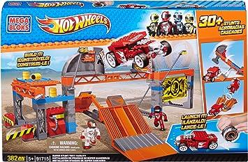 Mega Bloks Hot Wheels 91715 Mega Pista de pruebas: Amazon.es ...