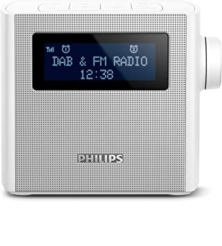 Philips AJB4300W/12 - Radio (Reloj, Digital, Dab+,FM, 87