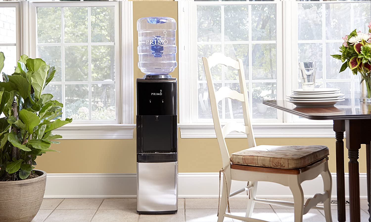 Primo Stainless Steel 1 Spout Top Load Hot, Cold and Cool Water Cooler Dispenser Primo Water Corporation 601087