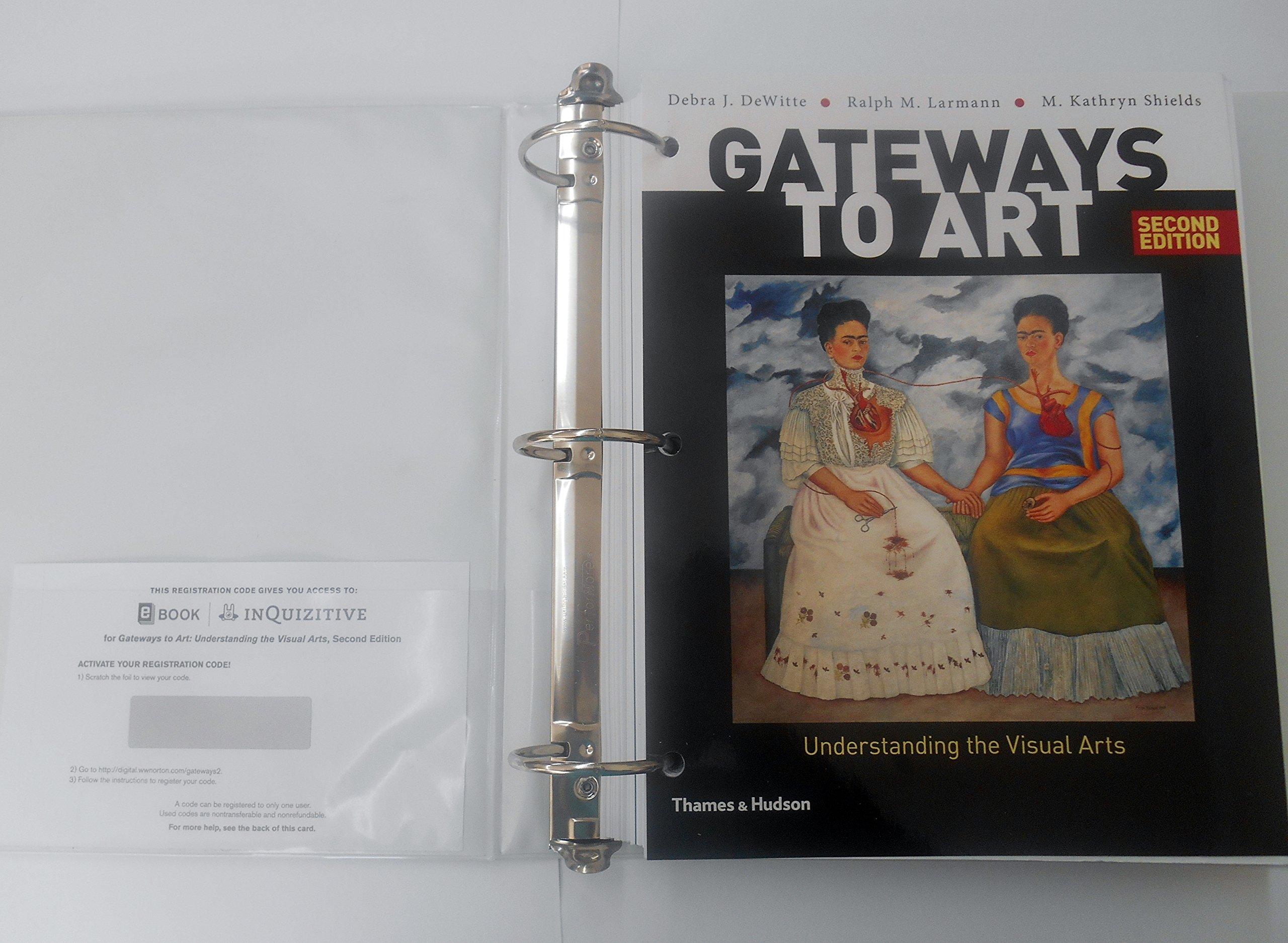 Elements And Organization Of Visual Arts : Gateways to art understanding the visual arts debra j dewitte