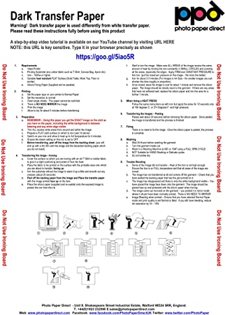 PPD Papel de transferencia para telas oscuras para impresión de ...