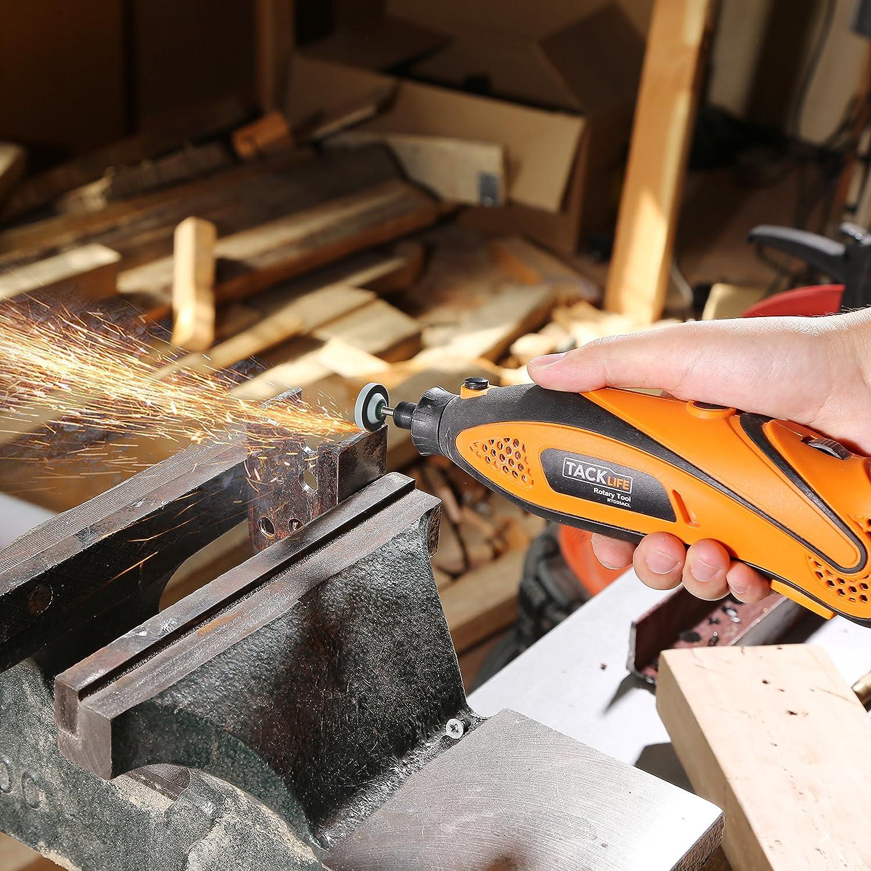 sculpture et polissage Outils universels pour d/écoupe Tacklife ARTO2C diam/ètre de l/'axe de 3,2/mm 282/pi/èces aff/ûtage Set d/'accessoires multi-usages pour outils rotatifs meulage