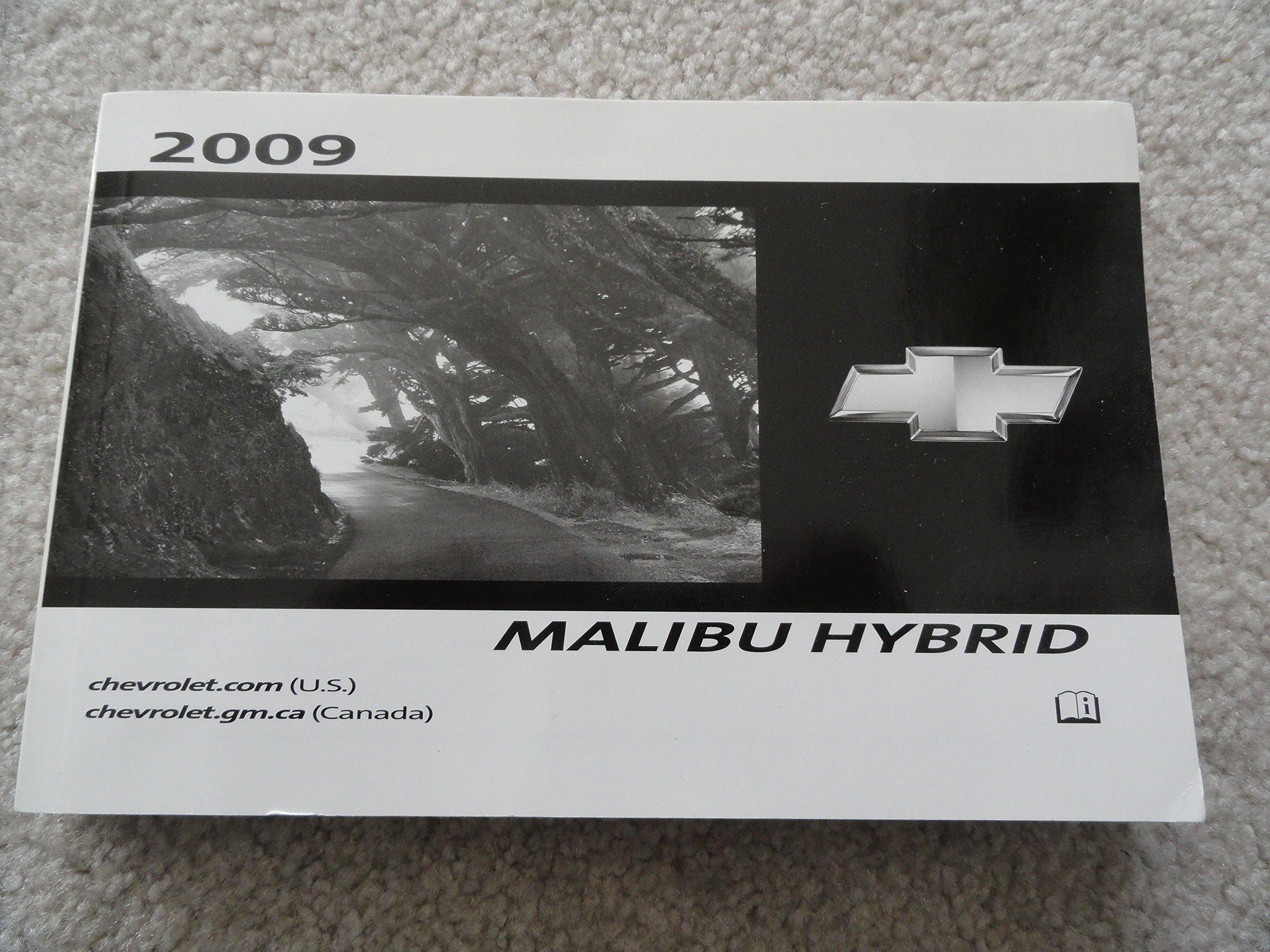 2009 chevrolet chevy malibu owners manual oem 09 | ebay.
