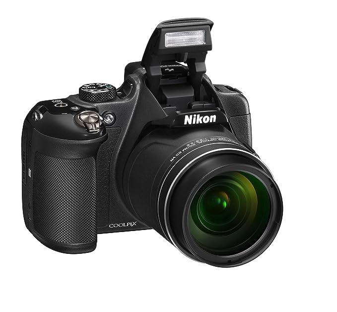28 opinioni per Nikon Coolpix P610 Fotocamera Digitale Compatta, 16 Megapixel, Zoom 60X, 6400