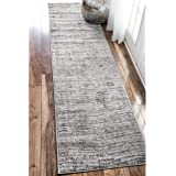 nuLOOM Contemporary Solid Polypropylene Area Rug 2' 5 x 9' 5