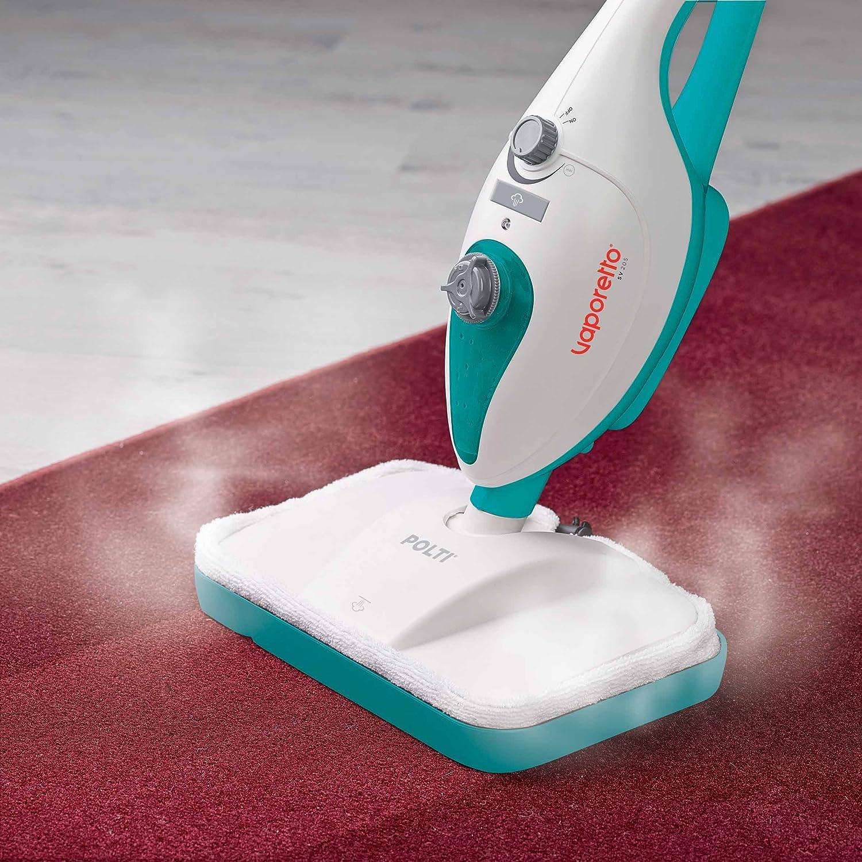 Polti Vaporetto SV205 Escoba a Vapor Doble Función con Limpiador ...