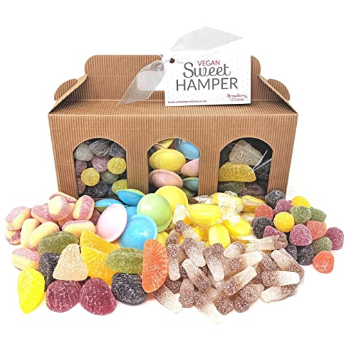 Vegan Sweet Hamper Box - Great Vegan & Vegetarian Gift for Birthday, Easter, Christmas, etc!