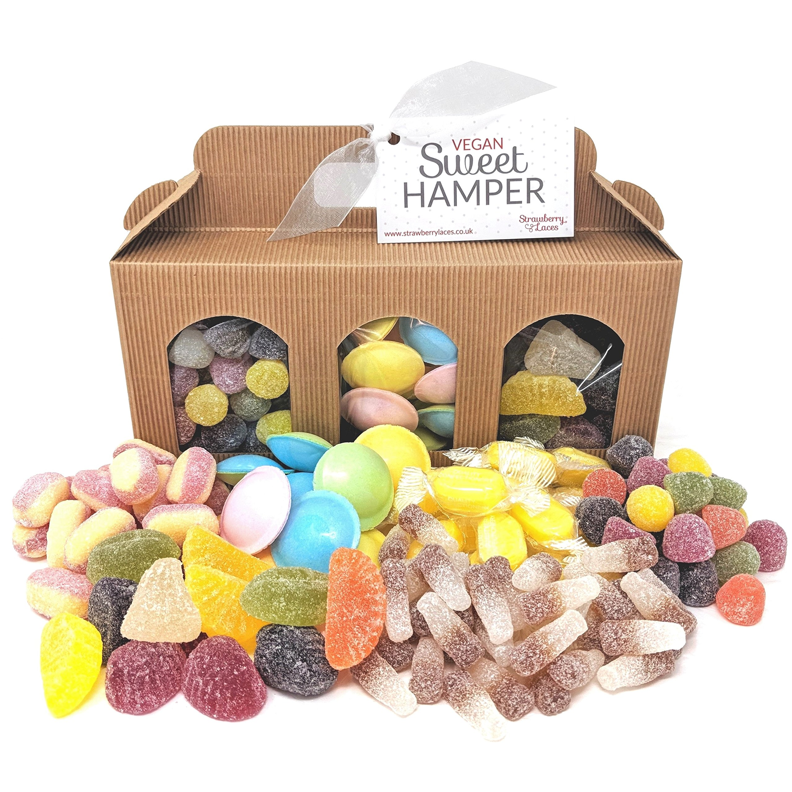 Vegan gifts amazon vegan sweet hamper box great vegan vegetarian gift for birthday easter christmas negle Choice Image