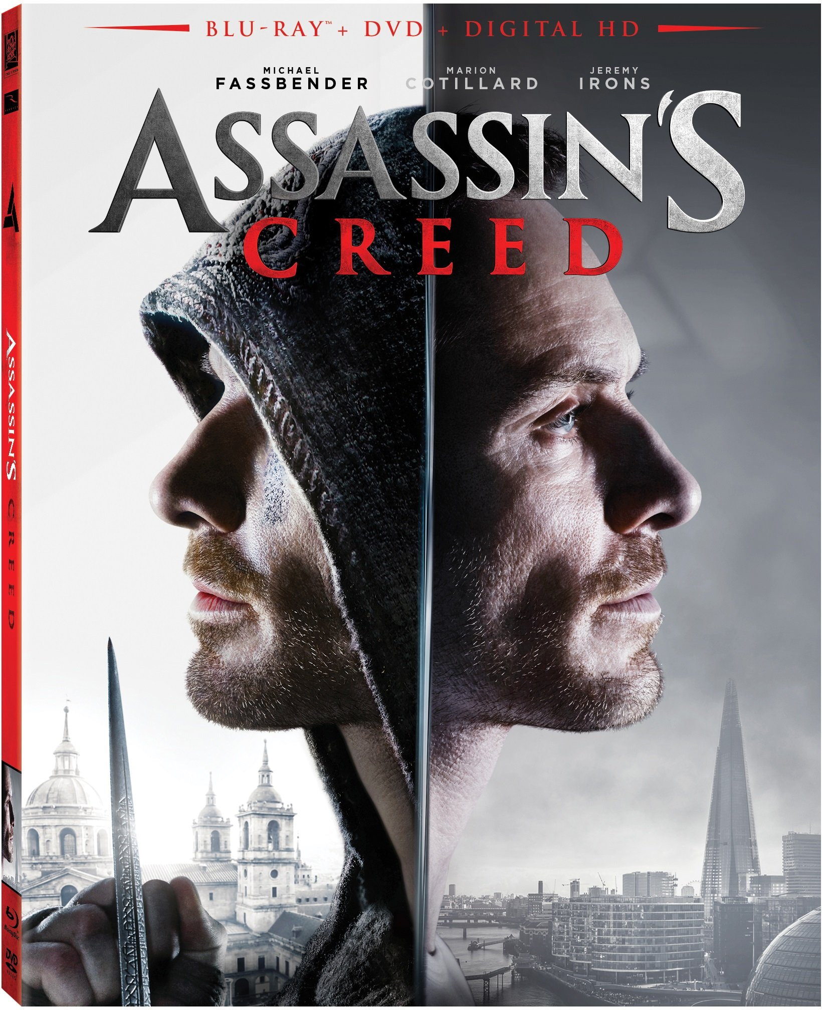 Blu-ray : Assassin's Creed (With DVD, Digitally Mastered in HD, Dubbed, , Widescreen)