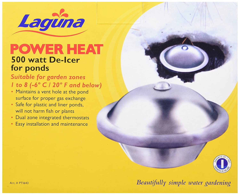 Amazon.com: LagunaPowerHeat Heated De-Icer for Ponds - 500 Watts ...