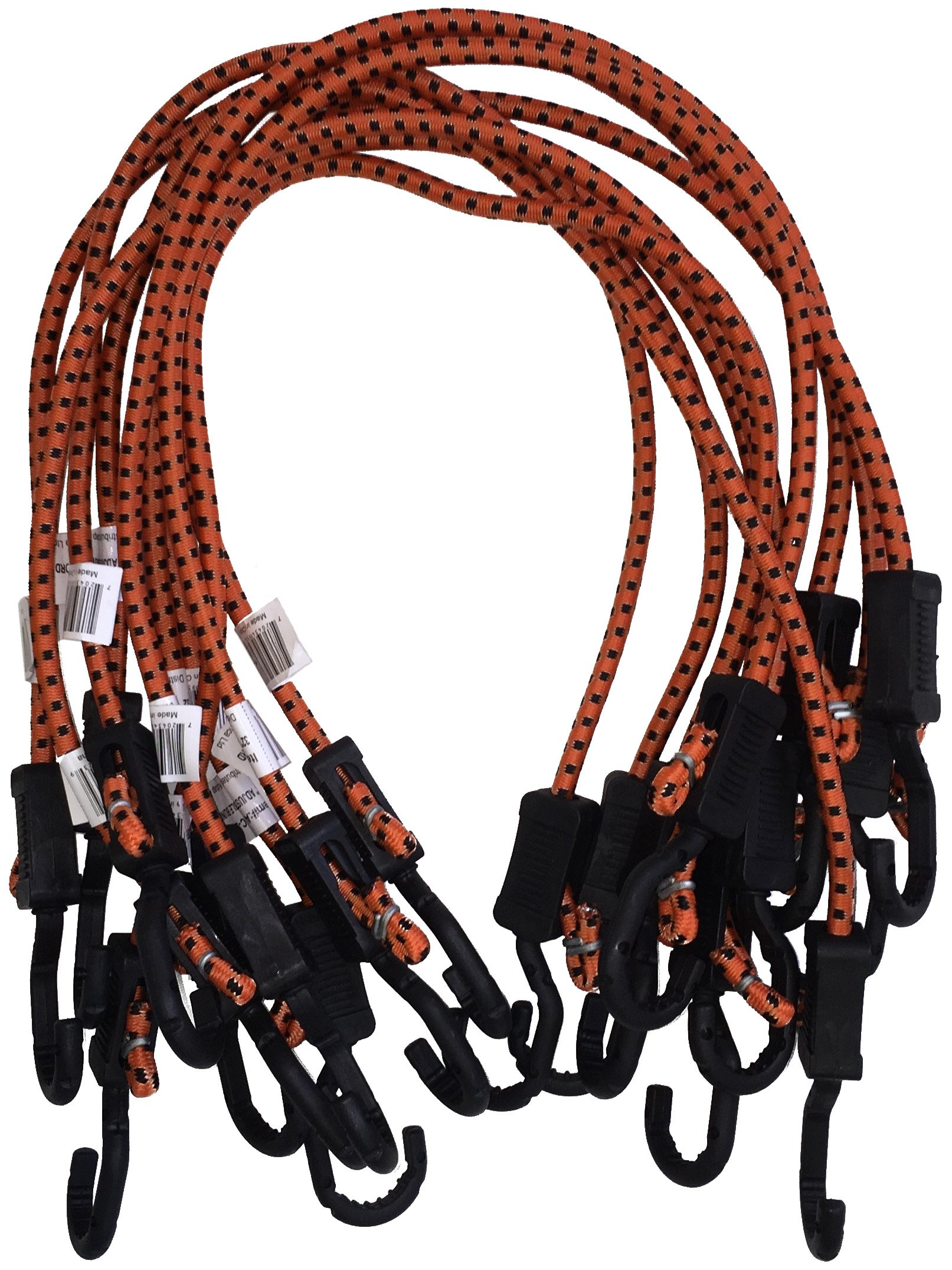 Kotap Adjustable 32-Inch Bungee Cords, 10-Piece, Item: MABC-32 by Kotap