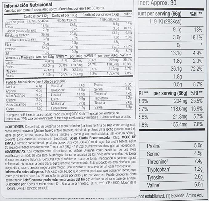 Starlabs Nutrition BM4 Big Muscle Suplemento Nutricional ...