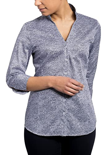 ETERNA 3/4 sleeve Blouse COMFORT FIT printed
