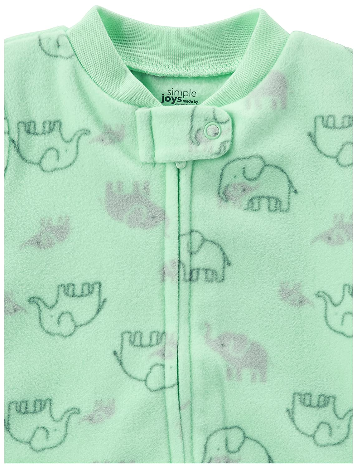 Simple Joys by Carters Baby 2-Pack Fleece Footed Sleep and Play