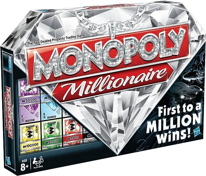 Monopoly Juegos en Familia Hasbro Millonario versión en inglés: Amazon.es: Juguetes y juegos