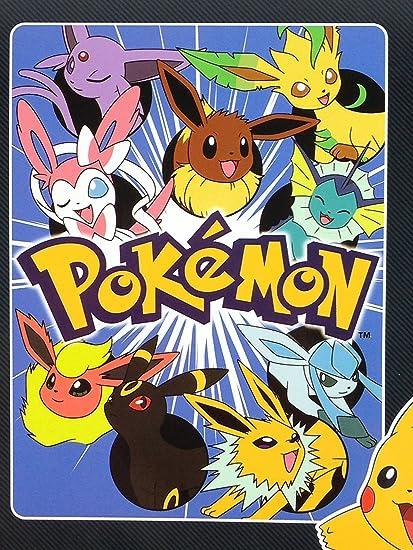 Pokemon ALL Eevee Evolutions Super Plush Throw Blanket 46quot