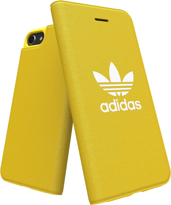 【アディダス公式ライセンスショップ】アディダスオリジナルス iPhone6/6S/7/8ケース 手帳型 アディカラーシリーズ イエロー [adicolor Booklet Case iPhone 6/6S/7/8 yellow]