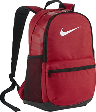 Nike Brasilia Medium Backpack (UNVRED WHITE)  Amazon.in  Bags ... e380b9b3ed49b