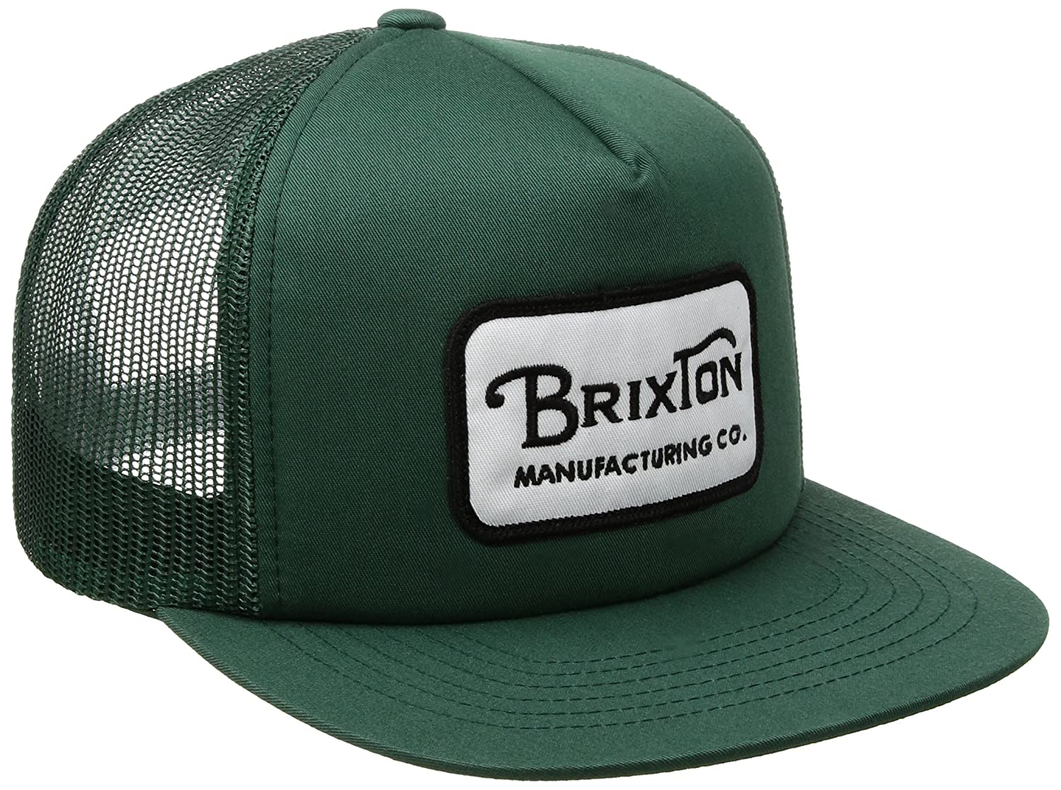 Brixton Men's Grade High Profile Adjustable Mesh Hat Chive One Size Brixton Young Men's 00232