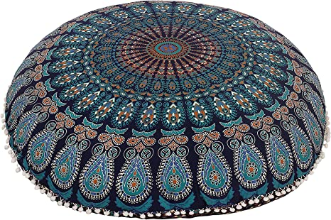 floor pillow,floor cushion,floor seating,colorful pillow,floor pouf,large floor pillow,mandala floor pillow,lounge seating,gift,home decor
