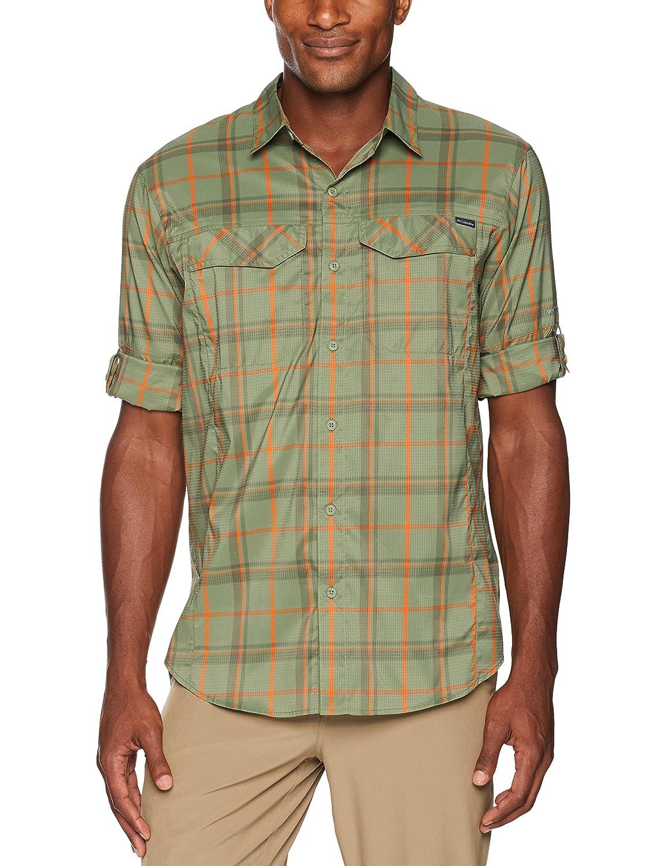 316f3fa3cd4 Columbia Men's Silver Ridge Lite Plaid Long Sleeve Shirt, Mosstone Large  Plaid, Large: Amazon.in: Sports, Fitness & Outdoors
