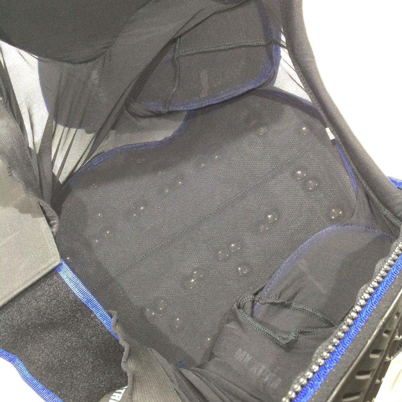 6anni //S, NERO-BLU XTRM MOTOCROSS BAMBINI PETTORINA MOTO CORAZZA OFF ROAD QUAD PITBIKE KIDS DORSALI ARMOUR