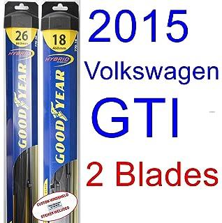2015 Volkswagen GTI Replacement Wiper Blade Set/Kit (Set of 2 Blades) (