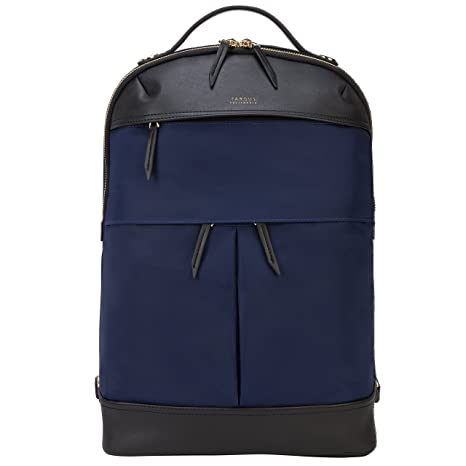 92a108220d Targus Newport Finta pelle, Nylon Nero, Blu marino zaino: Amazon.it ...