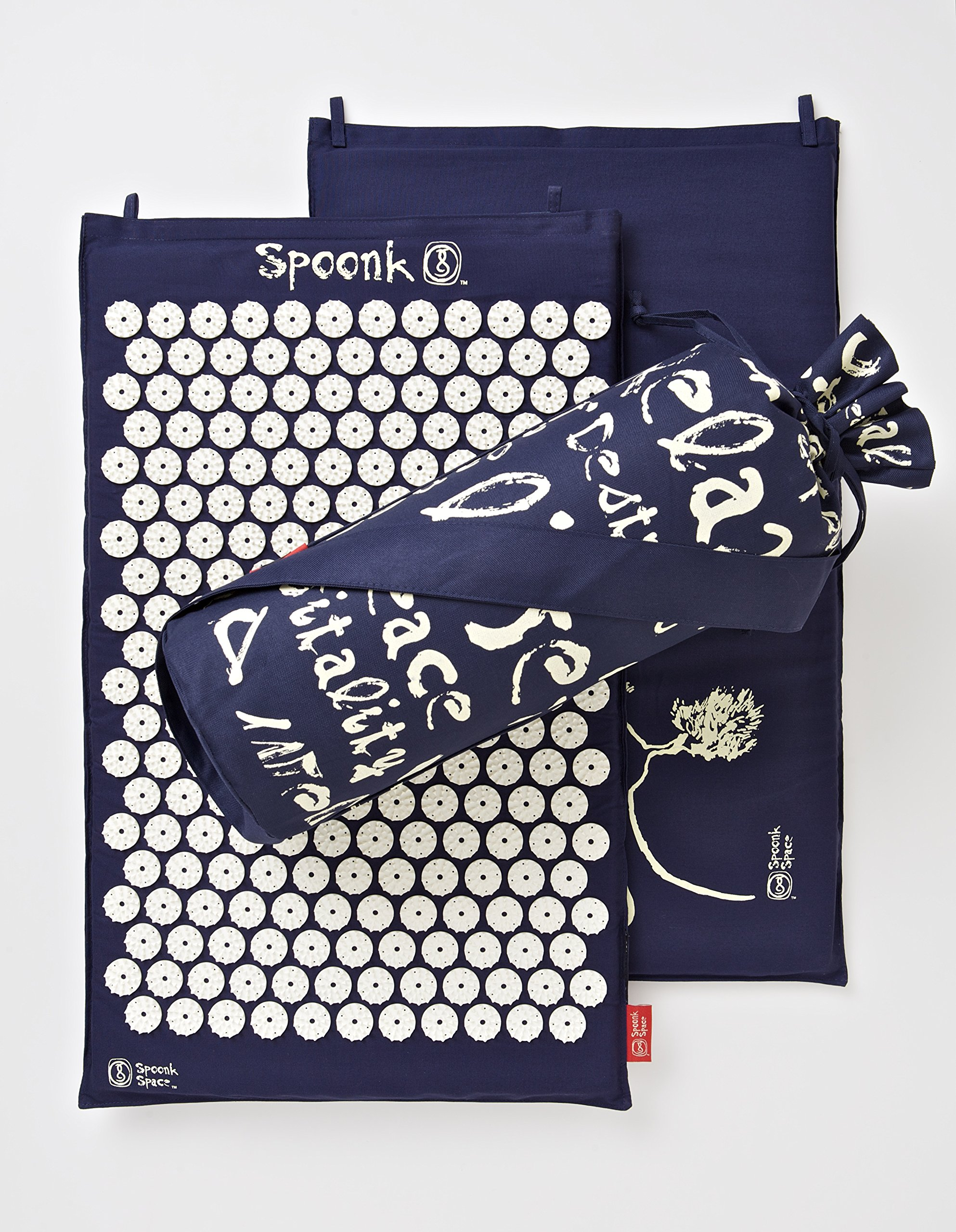 Cotton Spoonk Mat /Eco Foam US Made/ top quality/ O list 2013 -- NAVY by Spoonk