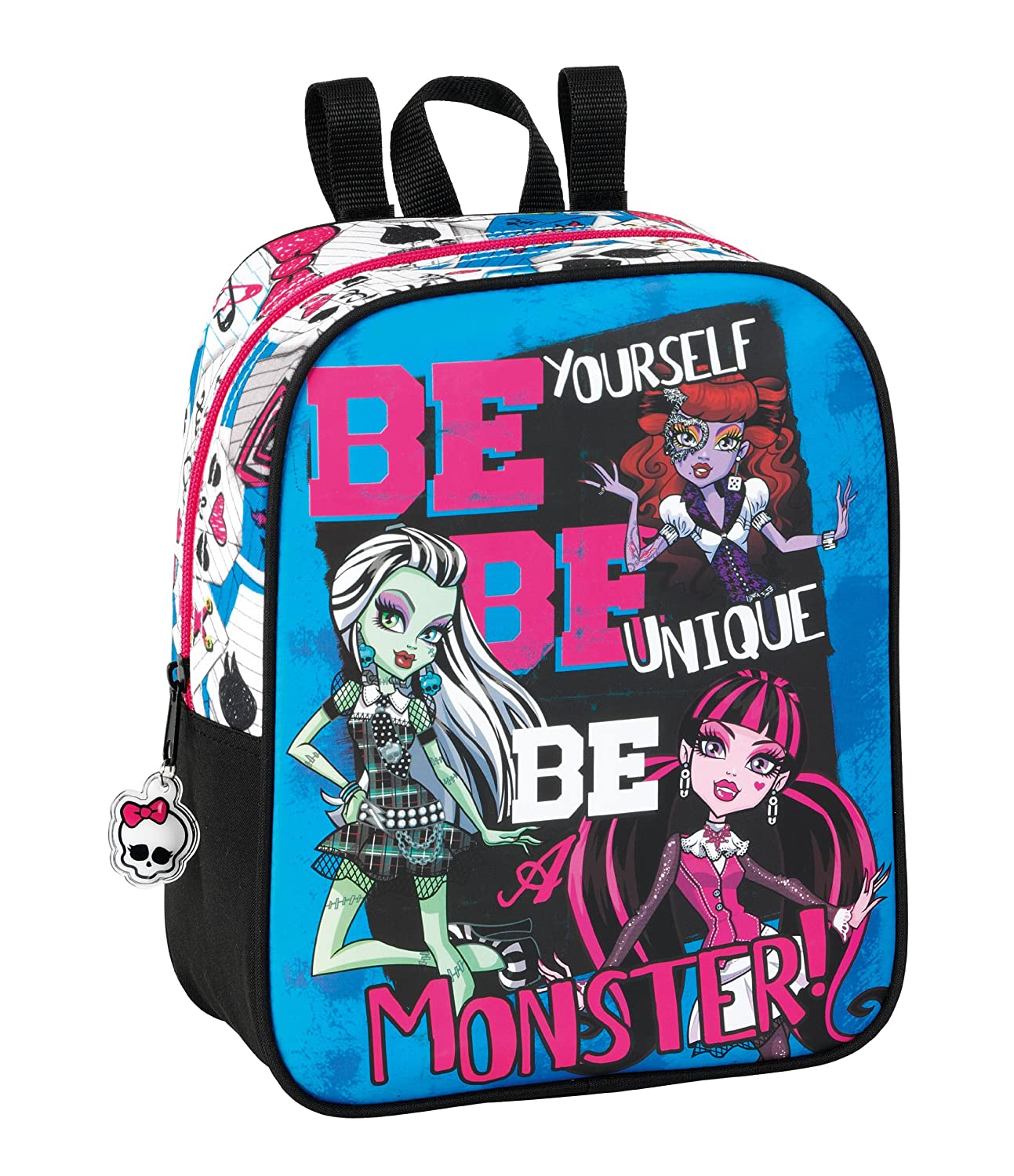 Monster High - Mochila de guardería (Safta 6 11340 232): Amazon.es: Equipaje
