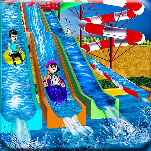 Water Slide Amusement Fun Park ()