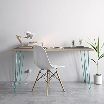 Hairpin Table mid-century desk dining table colours