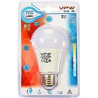 VPW G-60 8W Beyaz Gün Işığı 6500K Led Ampul